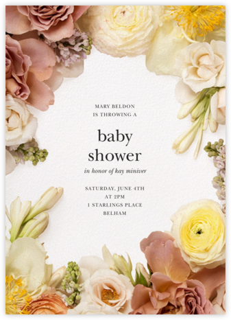 Pluviôse - Putnam & Putnam - Baby Shower Invitations