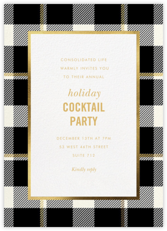 Tartan Suite - kate spade new york - Company holiday party