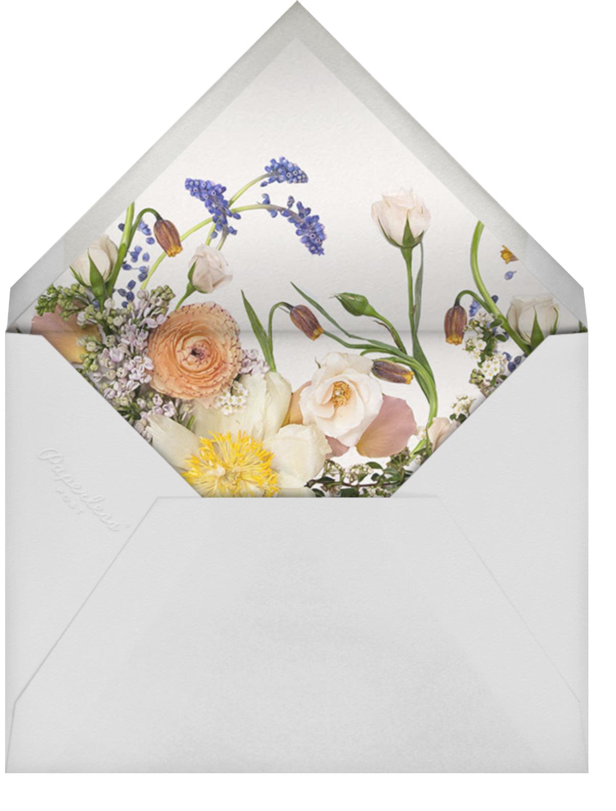 Ventôse - Putnam & Putnam - Bridal shower - envelope back