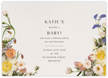 Ventôse - Putnam & Putnam - Baby shower invitations