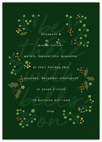 Sleigh Belles - Paperless Post - Winter Party Invitations