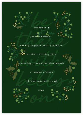 Sleigh Belles - Paperless Post - Winter entertaining invitations