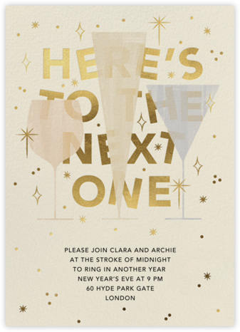 We'll Have Another - Paperless Post - New Year's Eve Invitations