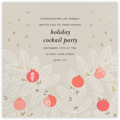 Pom Pom Club - Paperless Post - Company holiday party