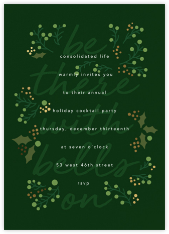 Sleigh Belles - Paperless Post - Company holiday party
