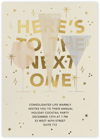 We'll Have Another - Paperless Post - Business Party Invitations