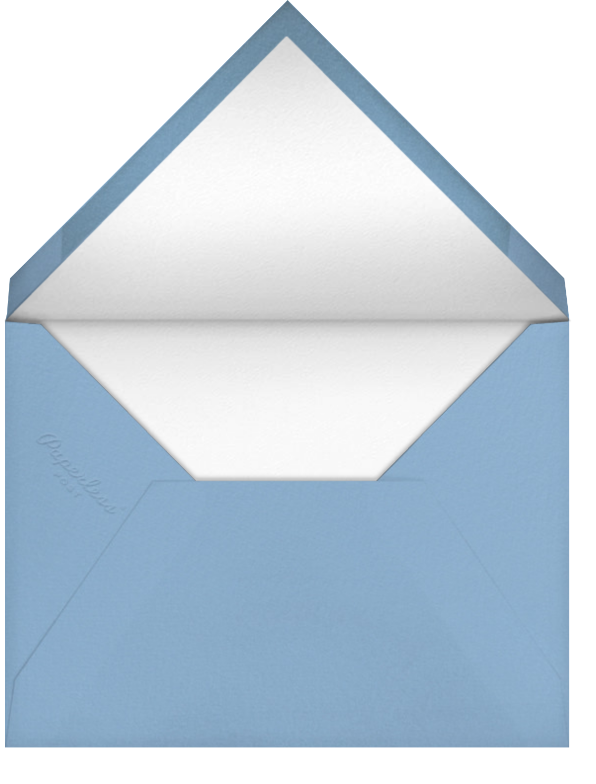 Mercedes - Cadet - Paperless Post - Photo  - envelope back