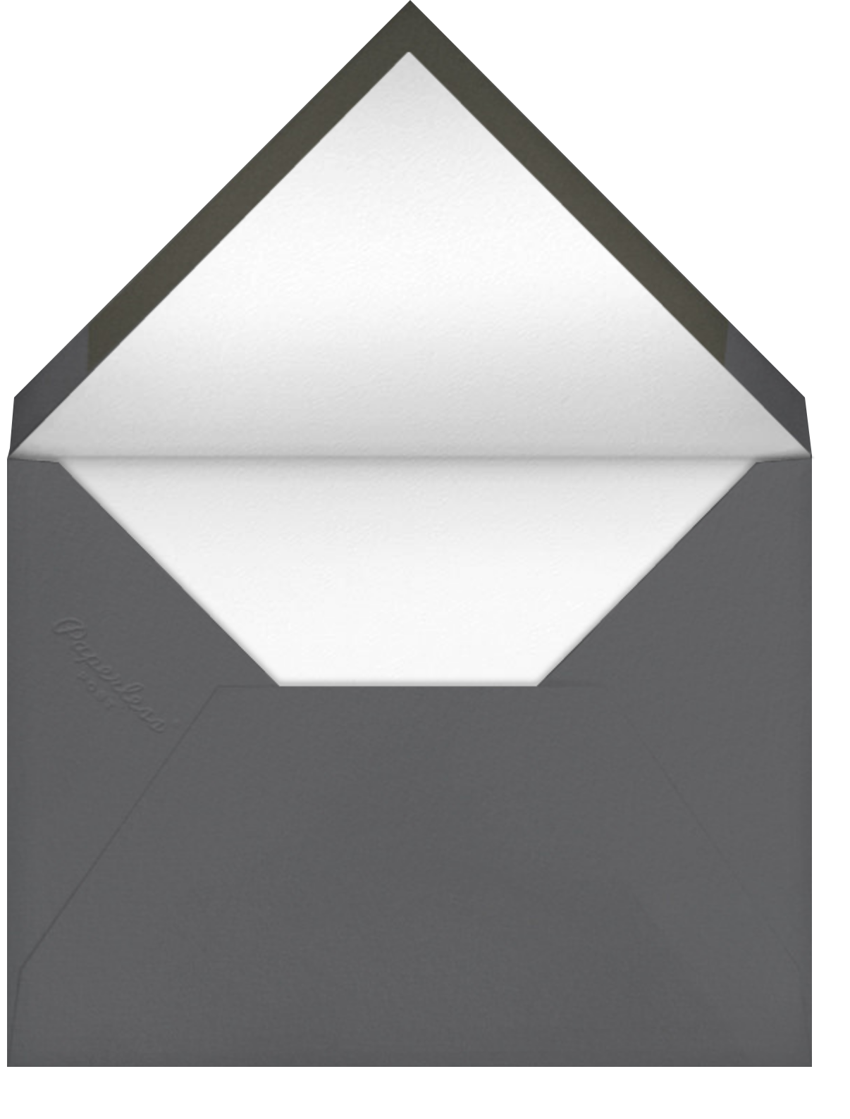 Mercedes - Charcoal - Paperless Post - Envelope