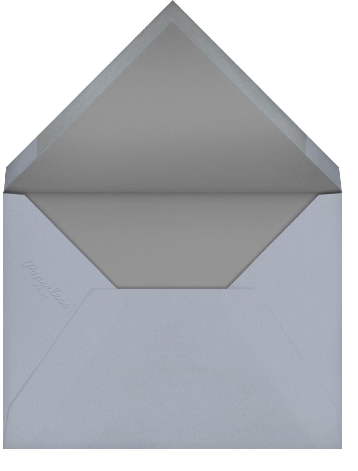 Tamara - Paperless Post - Modern  - envelope back