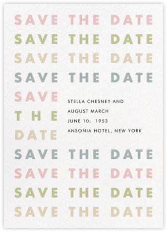 Stopover - Pastel - Paperless Post - Modern save the dates