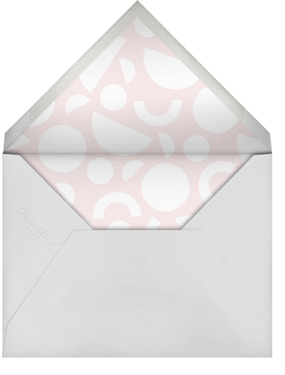 Break it Down - Meringue - Paperless Post - Save the date - envelope back
