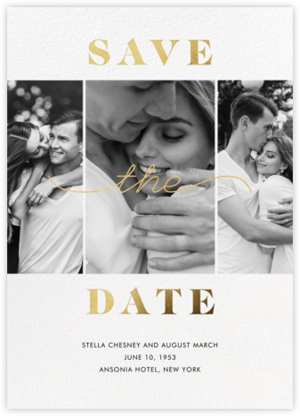 Suki - Paperless Post - Modern save the dates