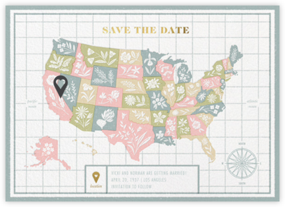 State of our Union - Paperless Post - Save the dates