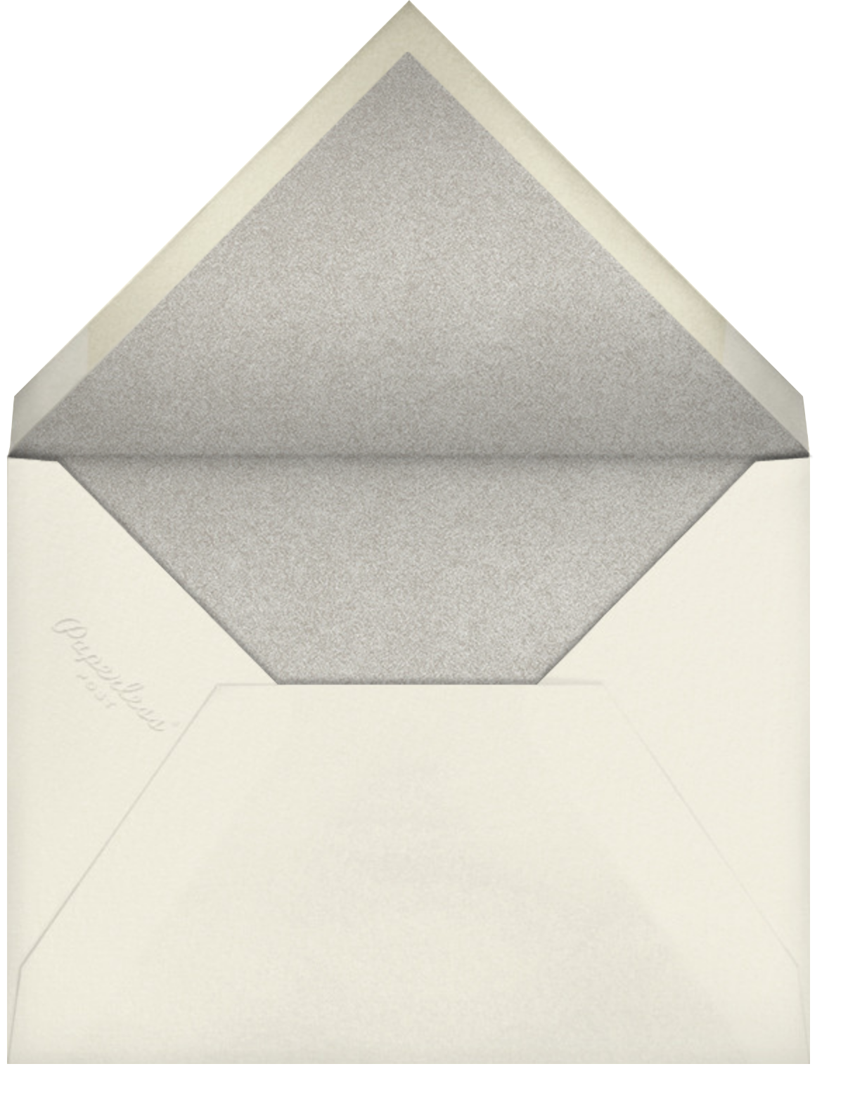 Lieder - Gray Green - Paperless Post - Save the date - envelope back