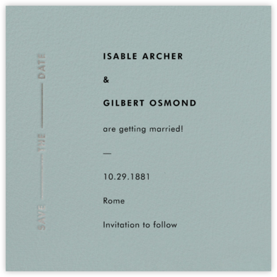 Lieder - Gray Green - Paperless Post - Save the dates