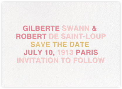Libretto - Pavlova - Paperless Post - Save the dates
