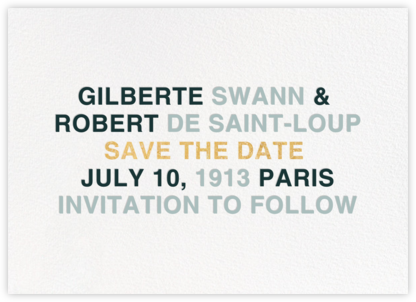 Libretto - Gray Green - Paperless Post - Modern save the dates