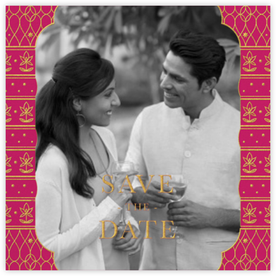 Vinayanka Photo - Paperless Post - Save the date cards and templates