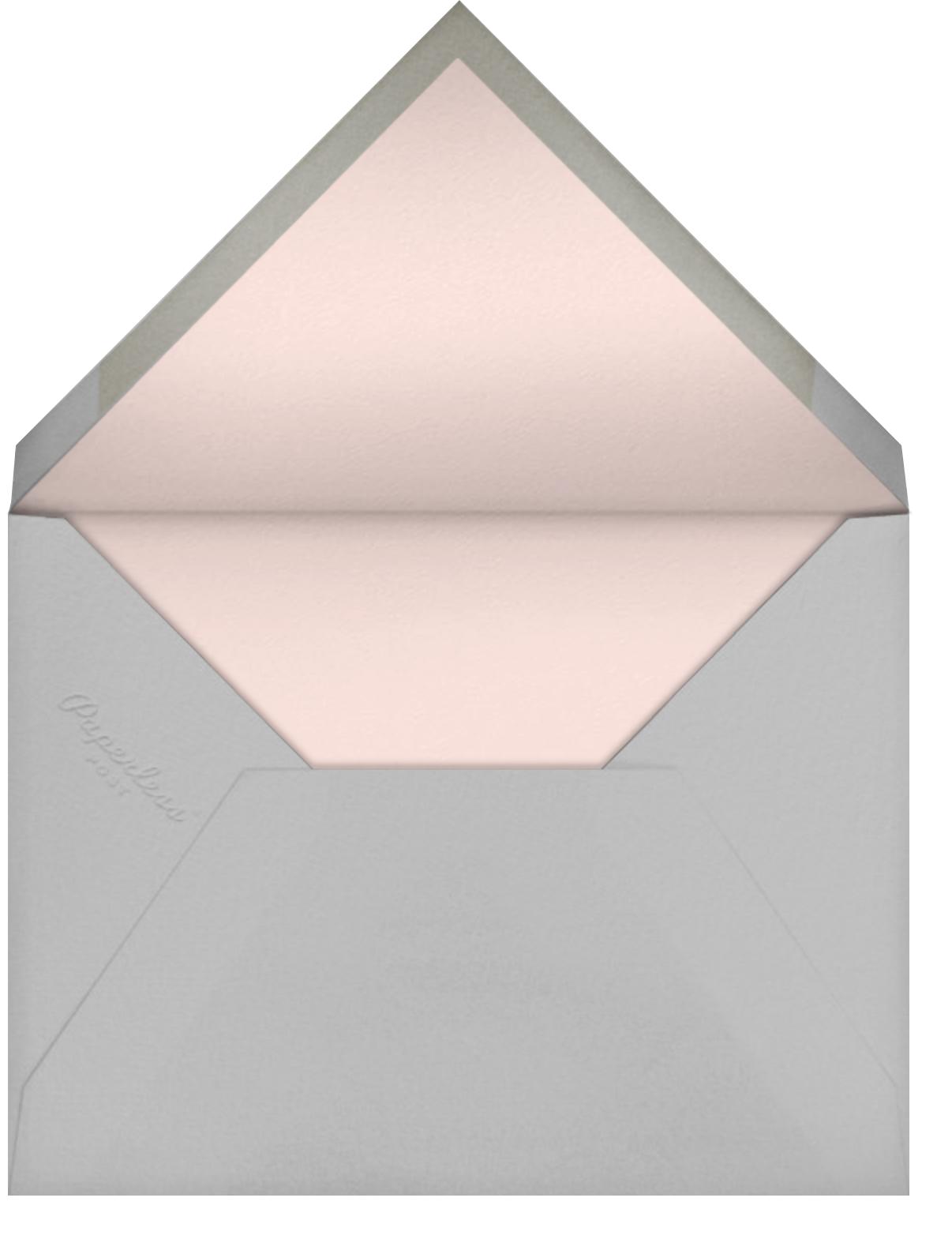 Lina - Meringue - Paperless Post - Engagement party - envelope back