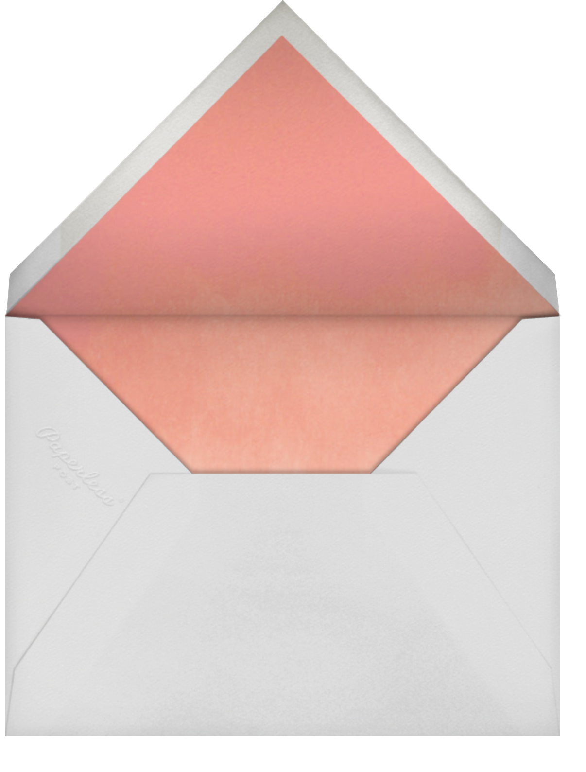 Mon Amour, Ma Vie - Paperless Post - Love cards - envelope back