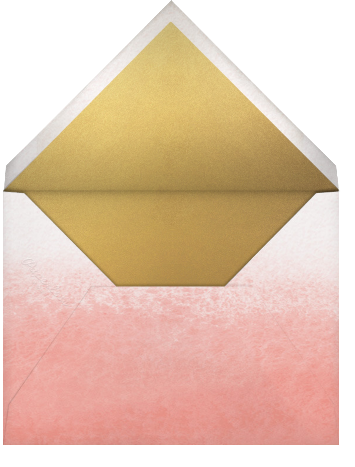 Mon Amour, Ma Vie - Paperless Post - Envelope