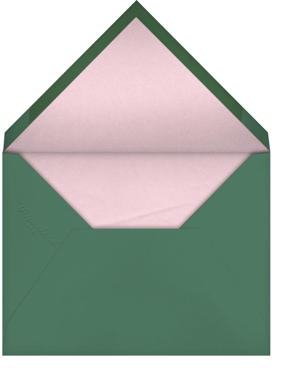Piccolo - Cream - Venamour - Baby shower - envelope back