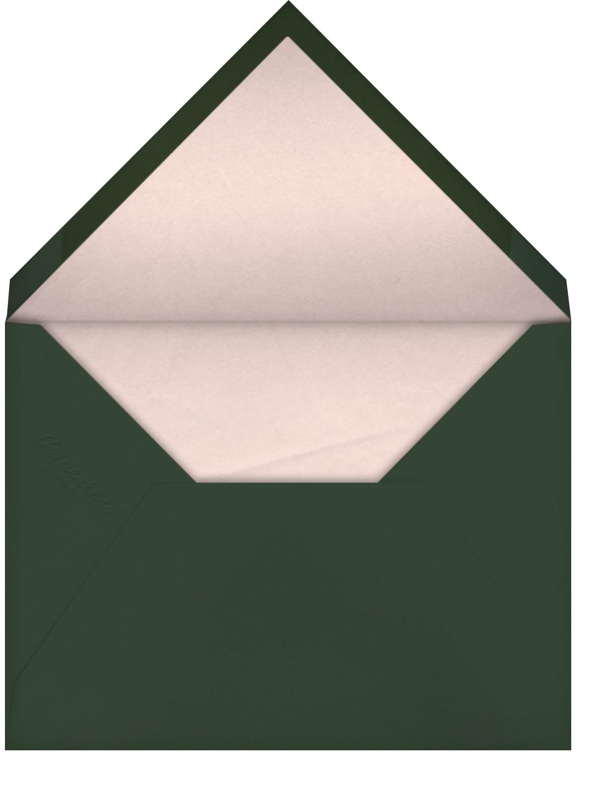 Cortile (Square) - Venamour - Bridal shower - envelope back