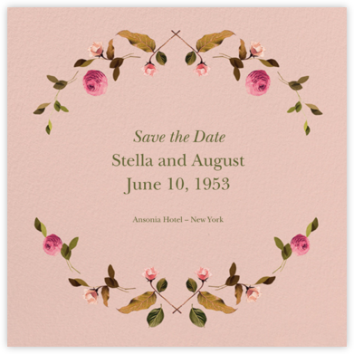 Cortile (Square) - Venamour - Save the dates