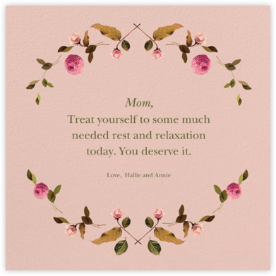 Cortile (Square) - Venamour - Mother's day cards
