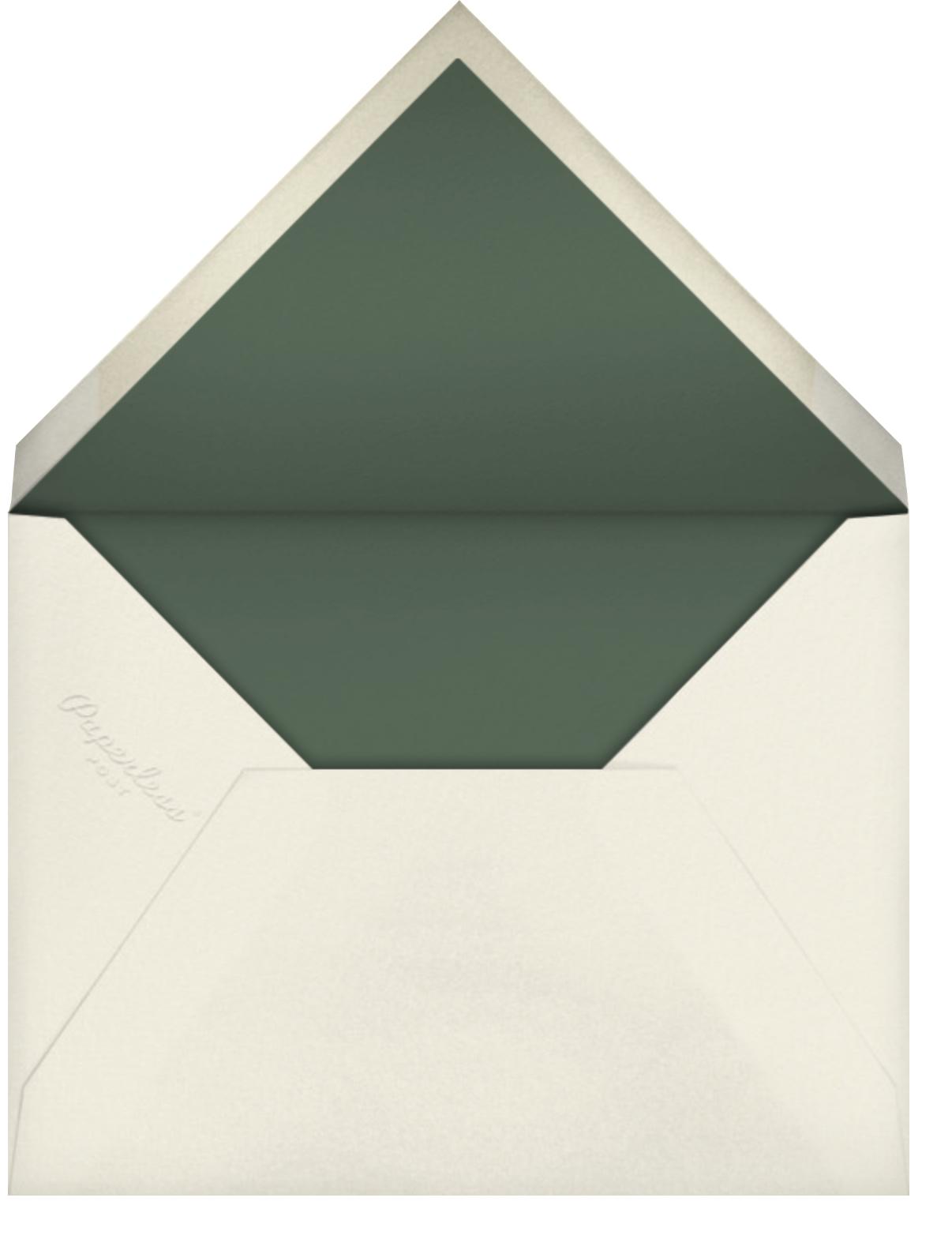 Cadenza - Palm - Venamour - Baby shower - envelope back