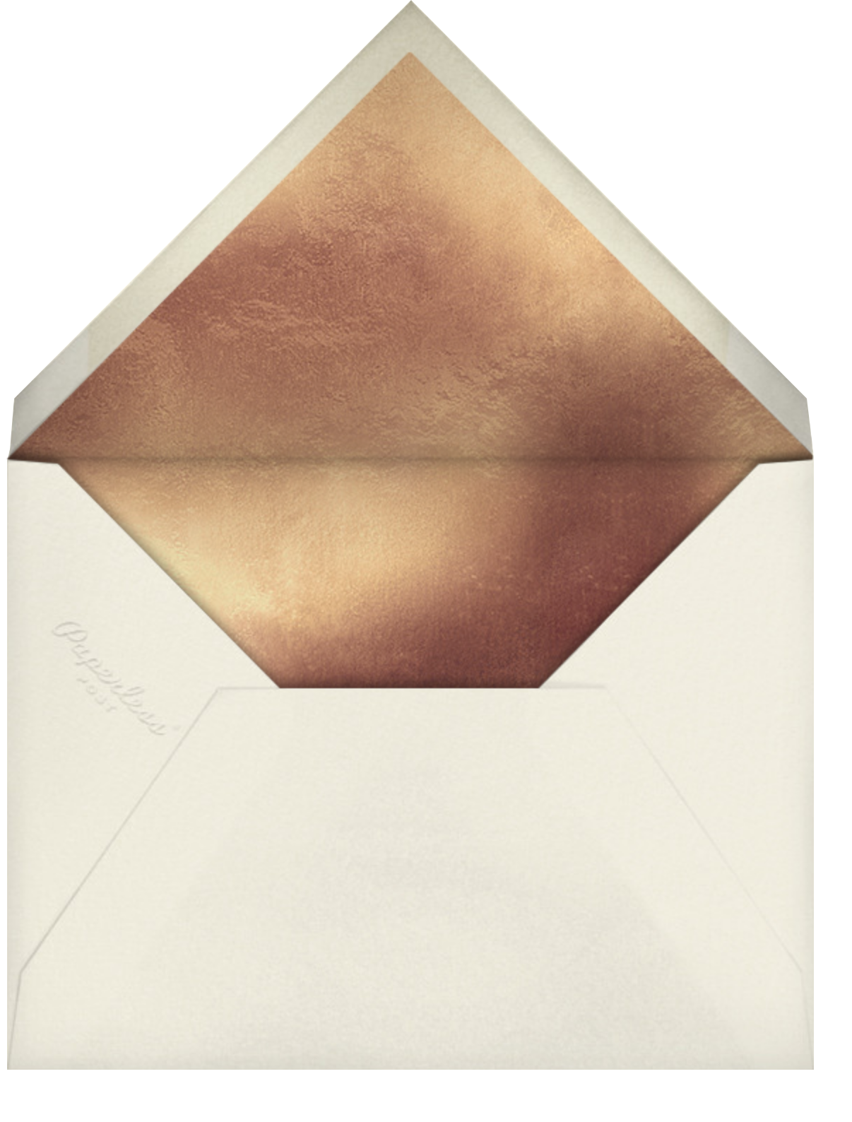 Oratorio (Invitation) - Chamois - Venamour - All - envelope back