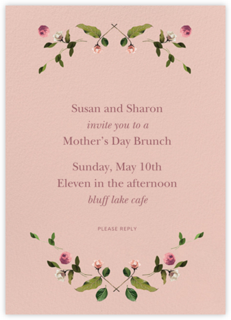 Cortile - Venamour - Online Mother's Day invitations