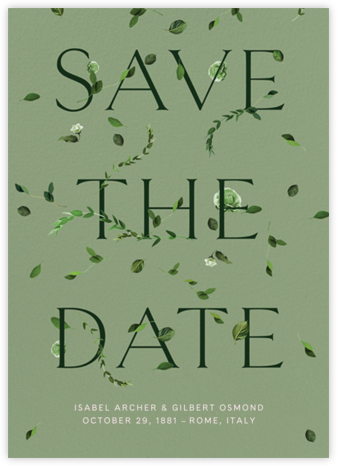 Semplici - Palm - Venamour - Save the dates