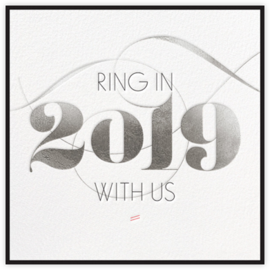 Ring in 2019 - Silver - bluepoolroad -