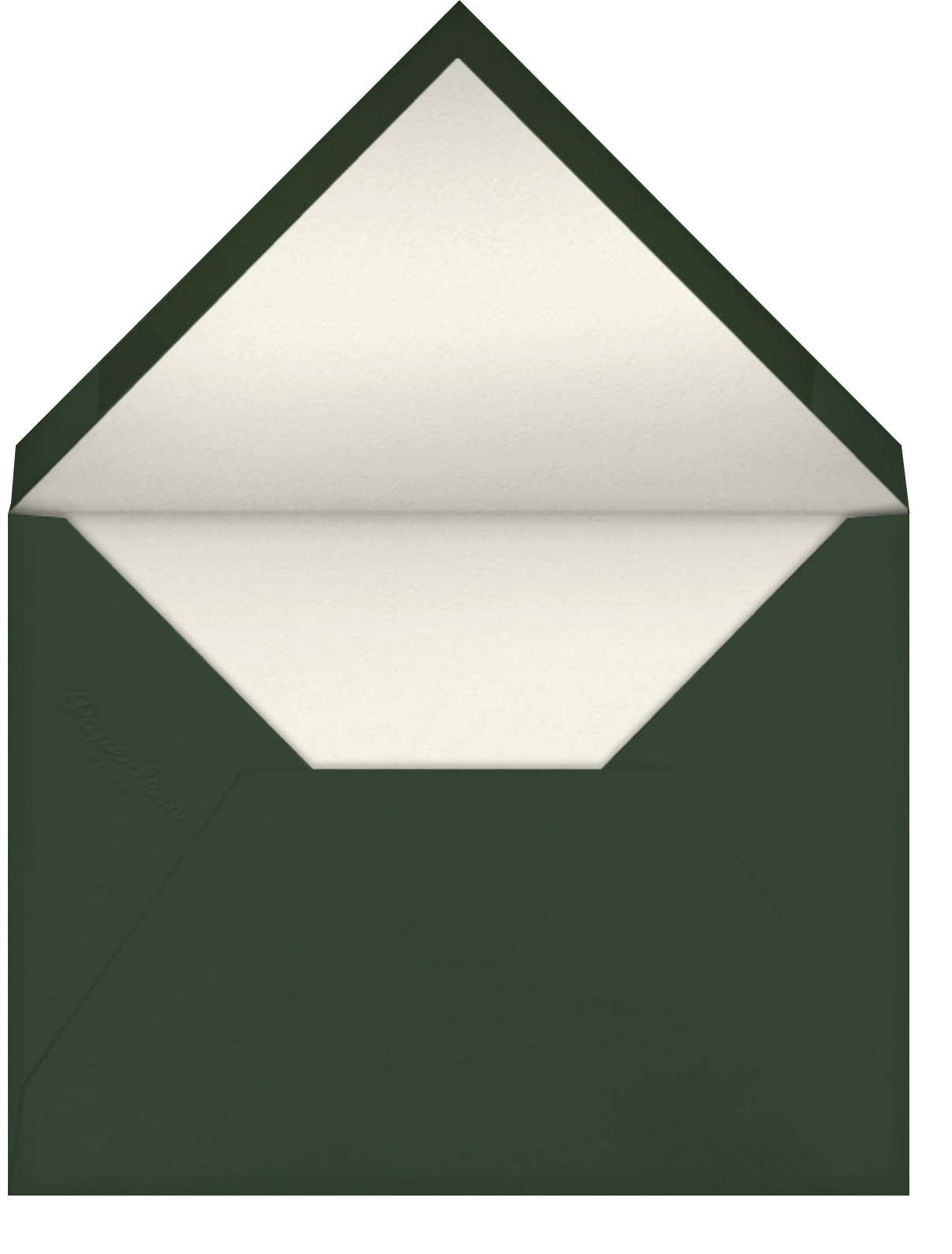 Bambino - Pavlova - Venamour - Sip and see - envelope back