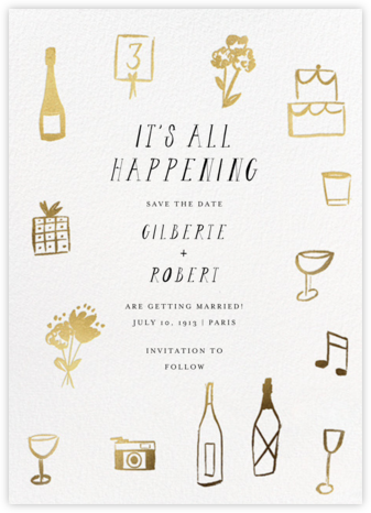 The Gold Rush Begins - Mr. Boddington's Studio - Save the dates