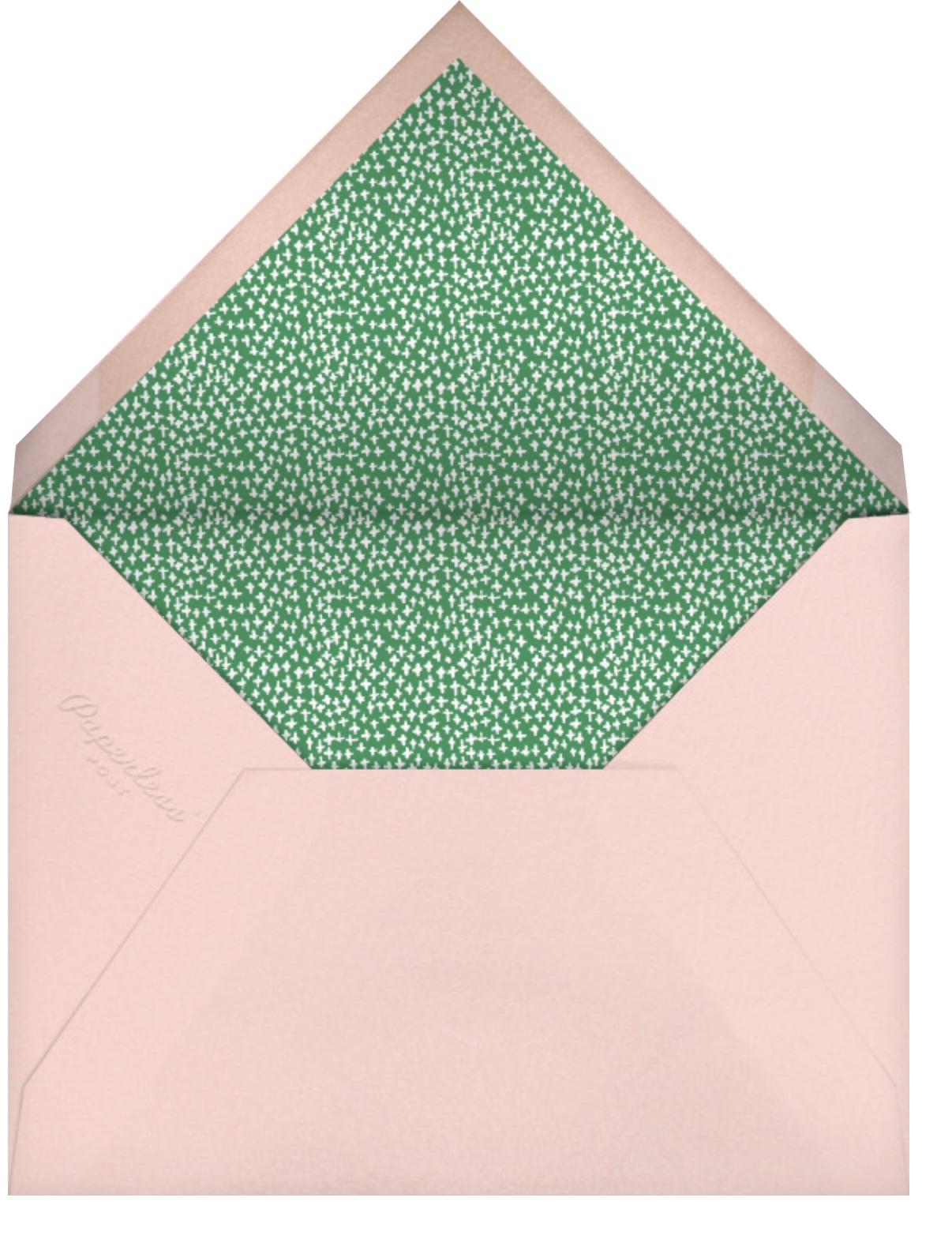 Oh Printemps - Mr. Boddington's Studio - Save the date - envelope back
