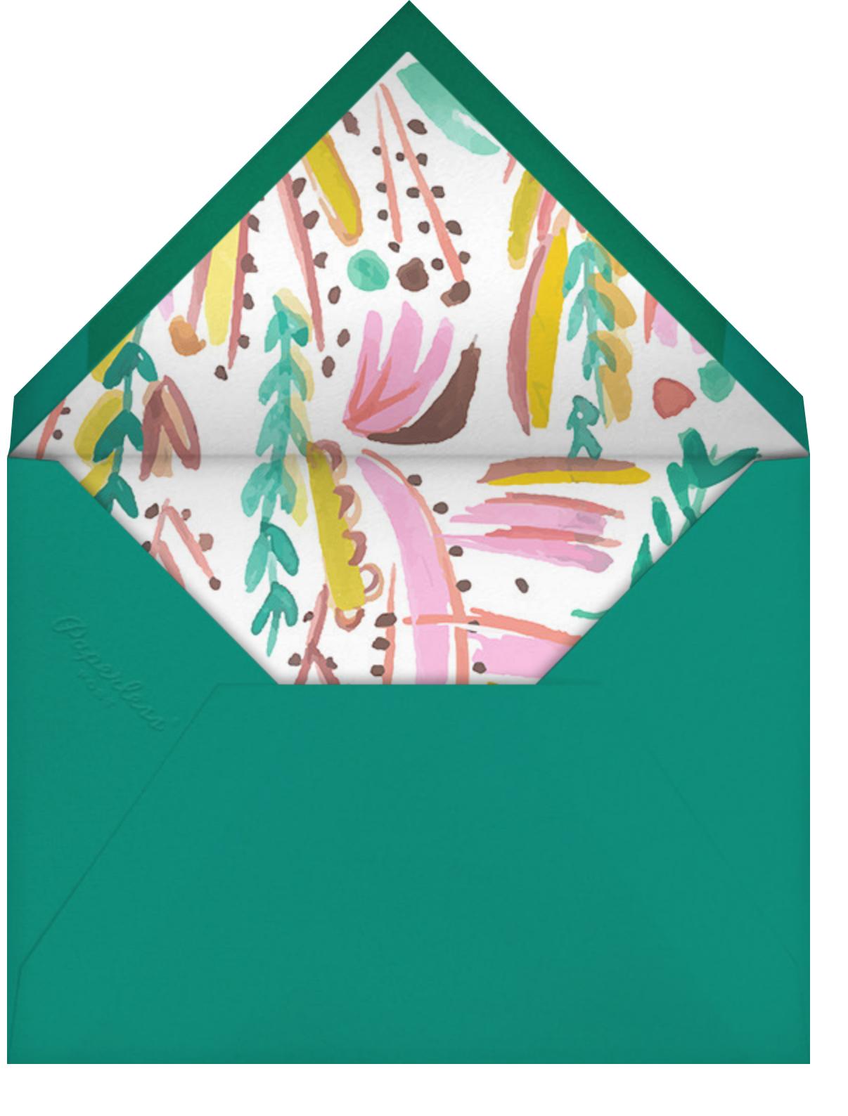 Primrose Path - Mr. Boddington's Studio - Birthday - envelope back
