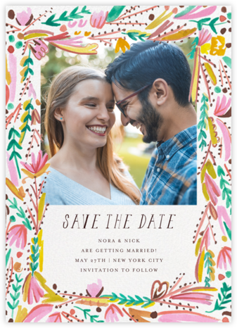 Primrose Path Photo - Mr. Boddington's Studio - Save the dates