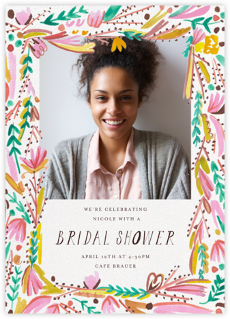 Primrose Path Photo - Mr. Boddington's Studio - Bridal shower invitations