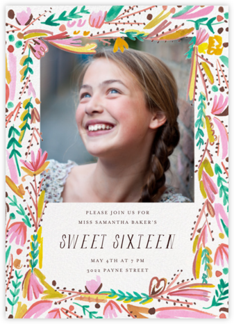 Primrose Path Photo - Mr. Boddington's Studio - Sweet 16 invitations
