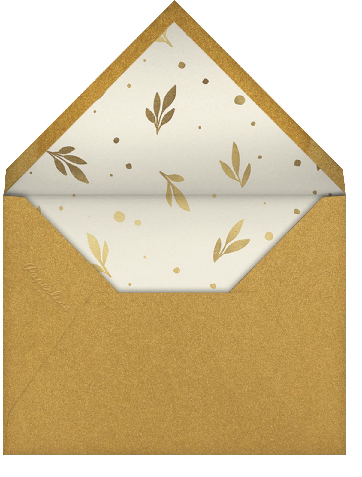 Auld Lang Laurels - Paperless Post - New Year's Eve - envelope back