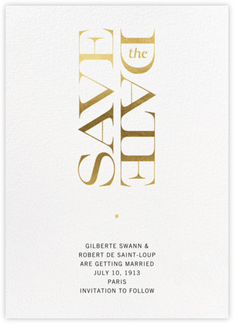 Bullae - Paperless Post - Modern save the dates