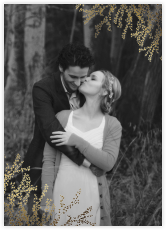 Forsythia Photo (Invitation) - Paperless Post - Wedding invitations