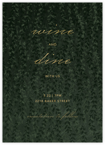 Ivalace - Paperless Post - Winter entertaining invitations