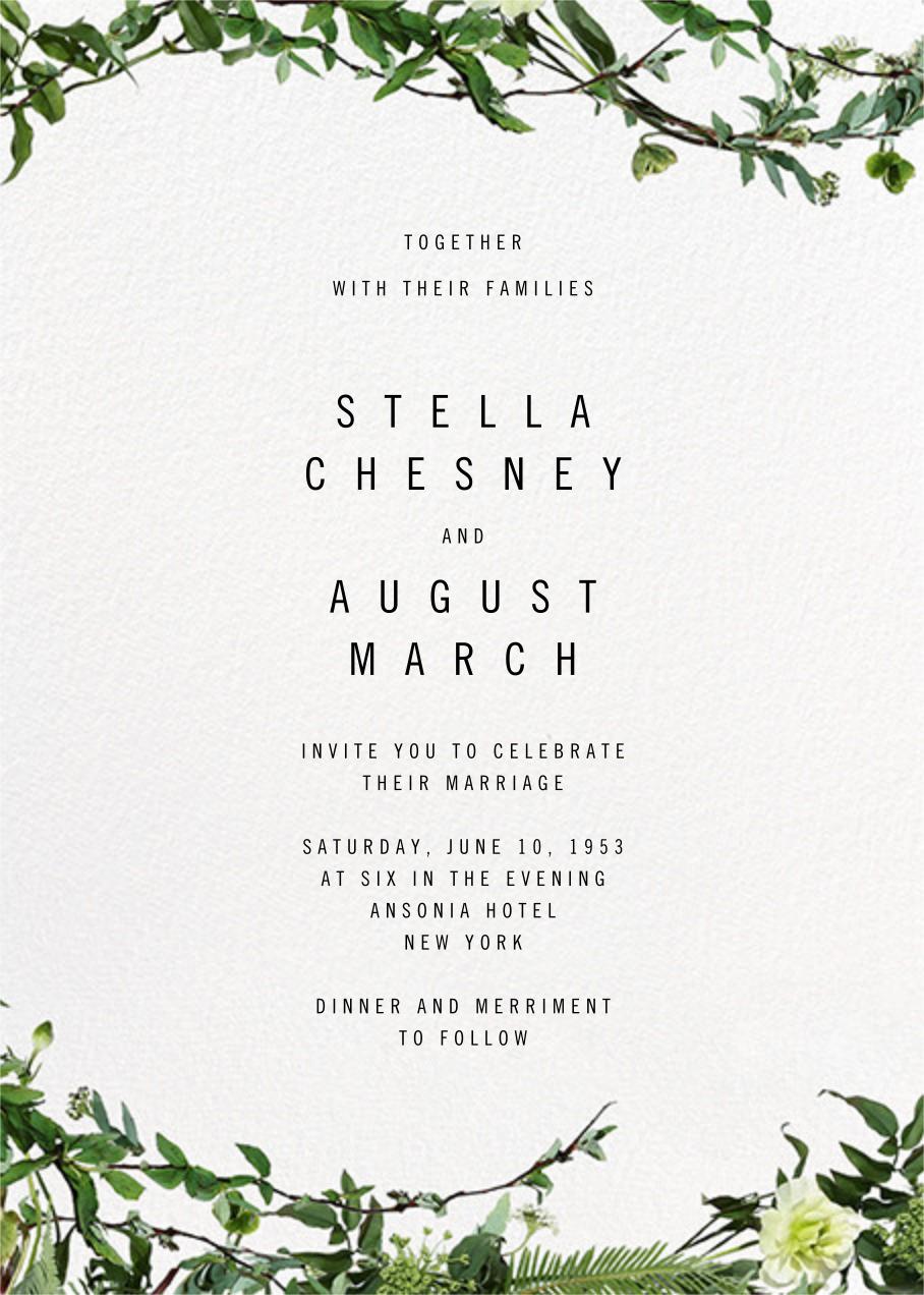 Chincoteague Vine - Paperless Post - Wedding invitations