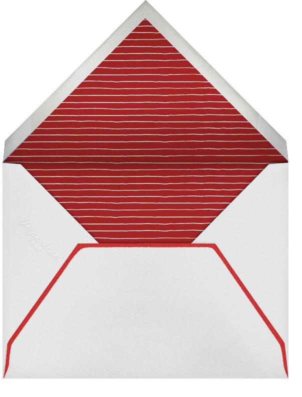 Pinecone Wreath - Paperless Post - Christmas - envelope back