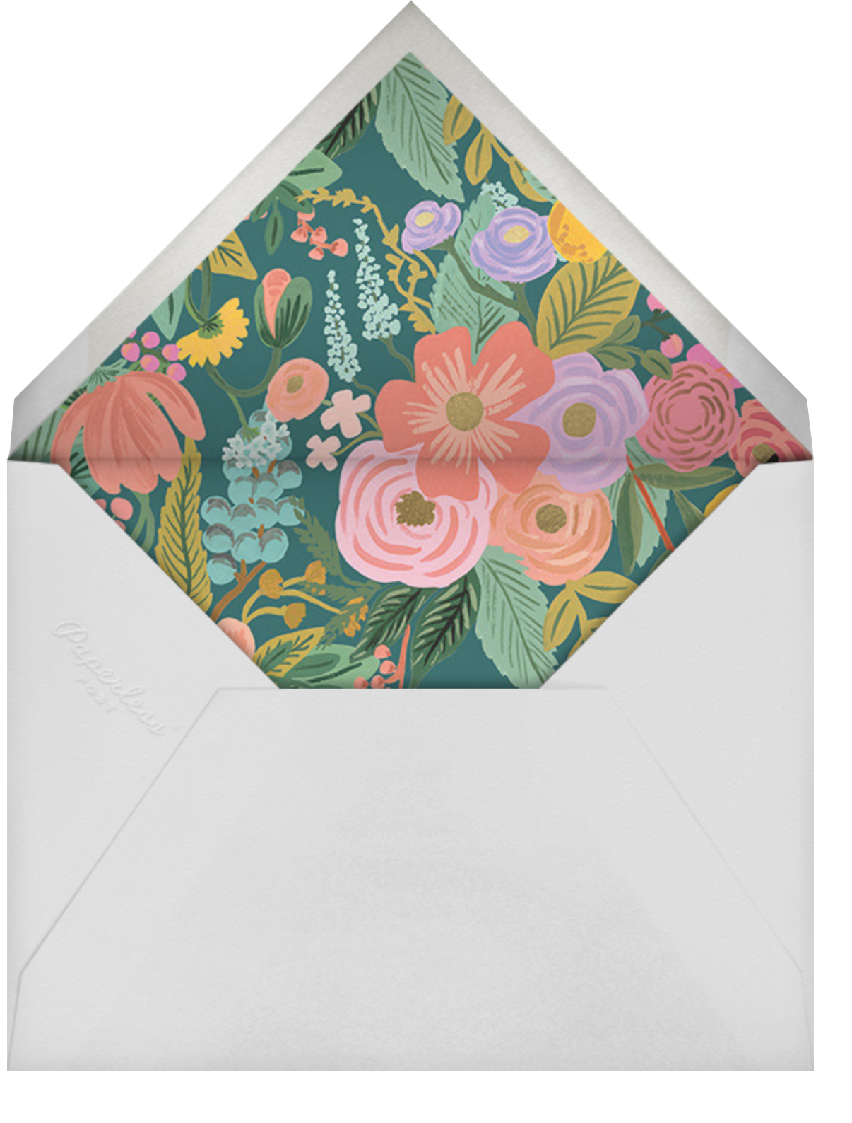 Garden Party (Tall) - Rifle Paper Co. - Adult birthday - envelope back