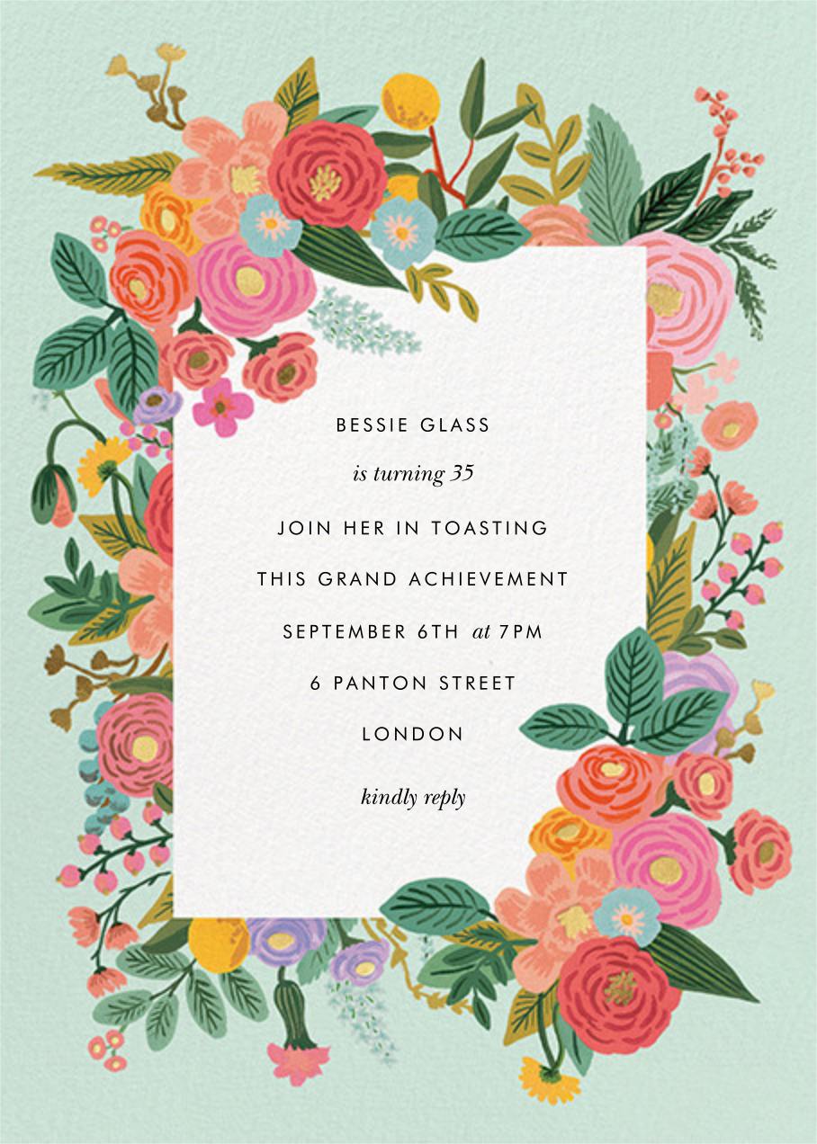 Garden Party (Tall) - Rifle Paper Co. - Rifle Paper Co.