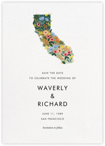 Golden State - Rifle Paper Co. - Rifle Paper Co. Wedding